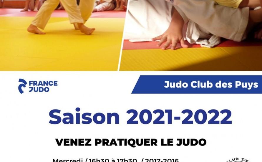 Saison 2021 - 2022 - Reprise du Judo et Pré-inscriptions